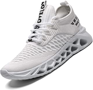 Mens Running Shoes Mesh Breathable Sneakers Lightweight...