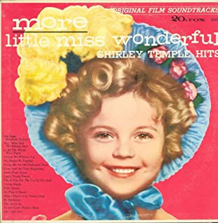 Shirley Temple - More Little Miss Wonderful Original Film Soundtracks Volume 2 NM LP