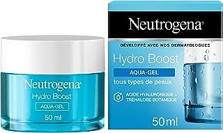 Neutrogena Hydro Boost Aqua-Gel Crème Hydratante Visage à l'Acide Hyaluronique, Soin Visage, 1 Pot de 50 ml