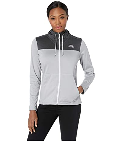 The North Face Tech Mezzaluna Hoodie (TNF Light Grey Heather/TNF Light Grey Heather) Women