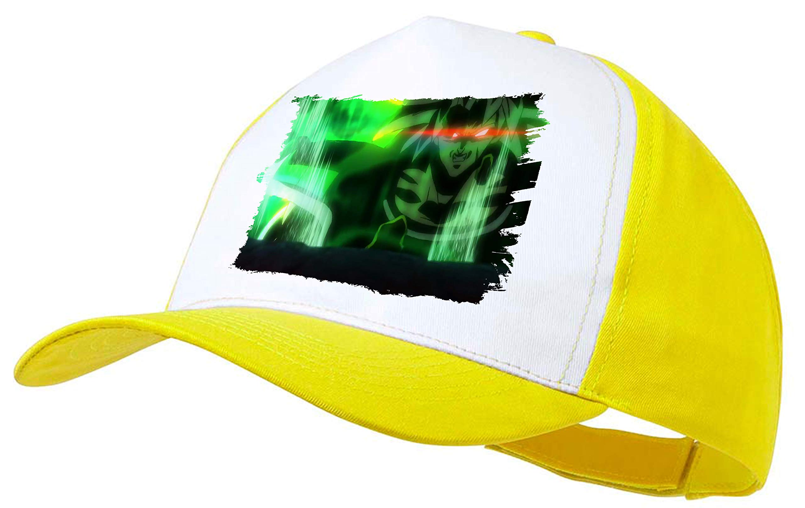 MERCHANDMANIA Gorra Amarilla Dragon Ball Super Broly FURIOSO Color ...