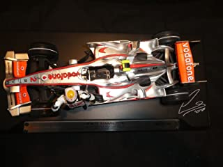 McLaren Mercedes MP4-22 (Lewis Hamilton 1st GP Win 2007) in Silver (1:18 scale) Diecast Model Car