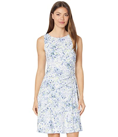 LAUREN Ralph Lauren Floral Sleeveless Jersey Dress Women