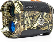 AOFAR HX-1200T Range Finder for Hunting Archery 1200 Yards Shooting Wild Waterproof Coma Rangefinder, 6X 25mm, Range and Bow Mode, Free Battery Gift Package