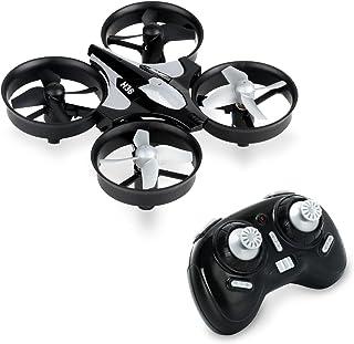 JJRC H36 Mini UFO RC Quadcopter (2.4GHz 6 ejes) Drone Gyro 360 ° con mando a distancia sin cabeza 9,5 x 9,5 x 5 cm Negro y Gris