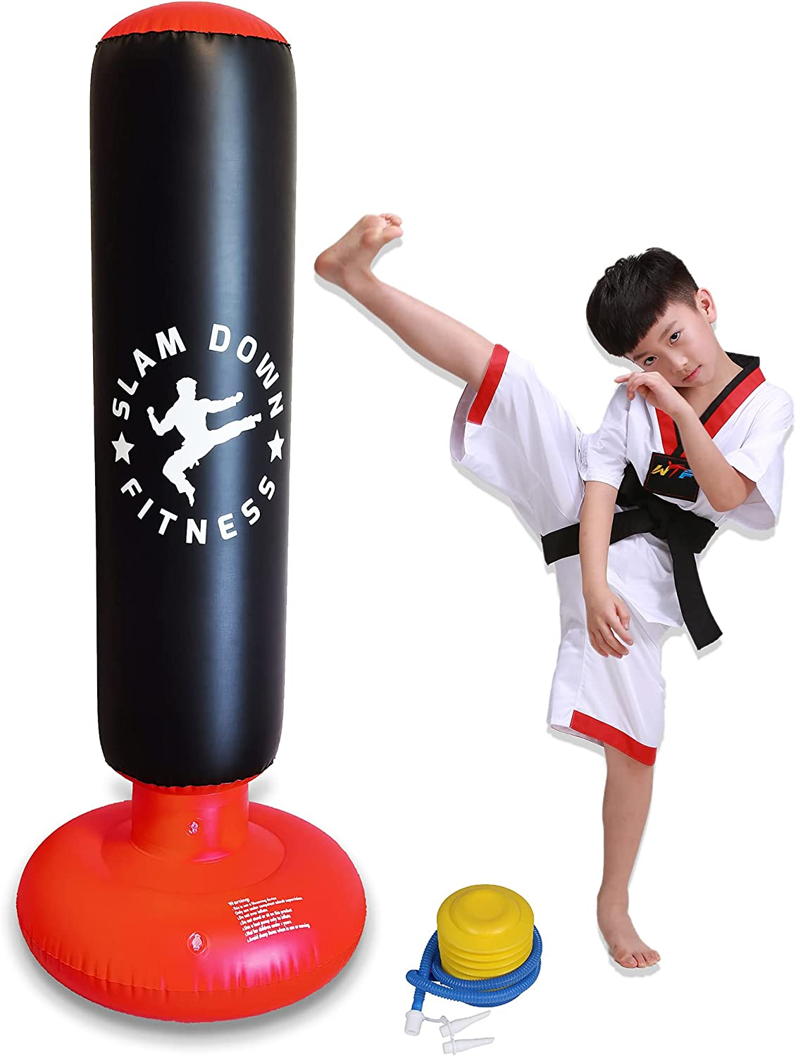 ExBePe Max 80% OFF Shipping included Thickened and Odorless Inflatable B Kids Bag Punching for