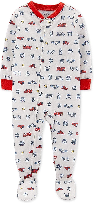 Carter's Baby Boys 1-Pc. Hero Vehicle Pajama 24M