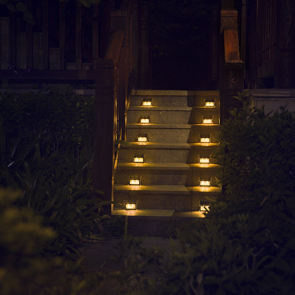 Lights pathway stairs outdoor waterproof