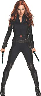 Rubie's Women's Captain America: Civil War Black Widow Costume, As Shown