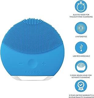 FOREO 斐珞爾 LUNA 迷你2 凈透潔面儀 藍寶石色 適合各種膚質,USB充電