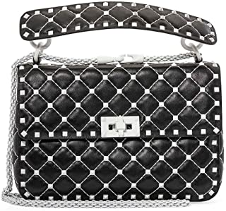 Free Rockstud Spike Medium Shoulder Bag- Black