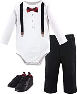 Unisex Baby Bodysuit, Pant and Shoes