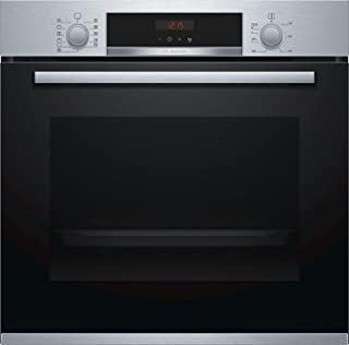 Bosch 60cm Pyrolitic Built-in Single Oven Stainless Steel HBN574BR0Z