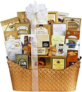 Gourmet Foods Holiday Gift Basket by California Delicious