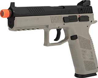 Evike ASG CZ P-09 Licensed Airsoft GBB Gas Blowback Full Metal Airsoft Pistol (Color: Urban Grey)
