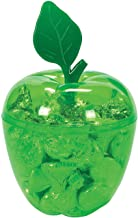 Plastic Green Apple Container (set of 12) Classroom and Party Supplies