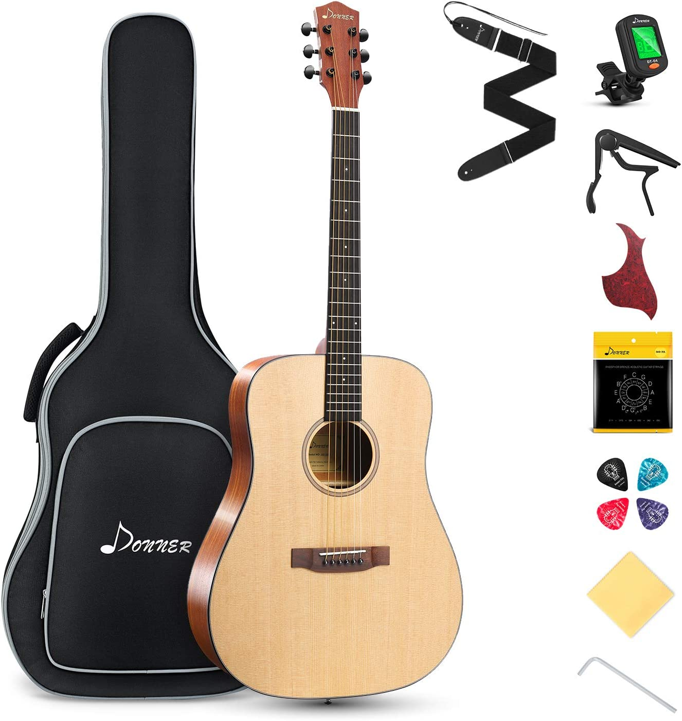 Donner Acoustic Guitar for Beginner Adult specialty shop Size Dreadnought specialty shop Full