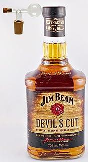 Jim Beam Devil`s Cut Bourbon Whiskey  1 Glaskugelportionierer
