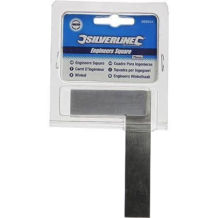 Silverline 868644 - Escuadra de acero (75 mm)