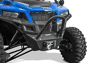 DragonFire 02-1101 Black Front Stinger Bumper for Polaris General - Orange Cycle Parts