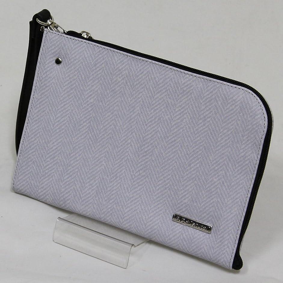 リダクター伝統ニックネーム十川鞄 B.C.+ISHUTAL ビーシーイシュタル ガリン ミニ クラッチバッグ セカンドバッグ ライトグレー IGN-3800-LG