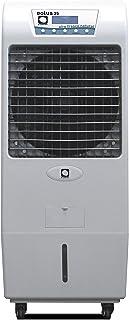 M CONFORT Climatizador Evaporativo Eolus 35. Potencia 150W. Cobertura 45m². Máximo Caudal 3500m³/h. 3 Velocidades. Ventilador Axial. Mando a Distancia. Temporizador. Depósito 45L. Pantalla Táctil Led