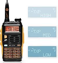 Baofeng GT-3TP Mark-III 8W/4W/1W UHF VHF Dual Band Two Way Radio Handheld Transceiver