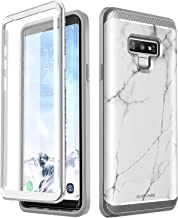 SupCase [UB Neo Series Case Designed for Samsung Galaxy Note 9, Full-Body Protective Dual Layer Armor Cover with Built-in Screen Protector for Samsung Galaxy Note 9 2018 (Marble)