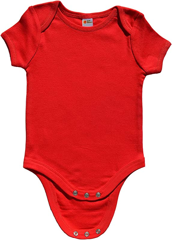 Earth Elements Baby Short Sleeve Bodysuit 0 3 Months