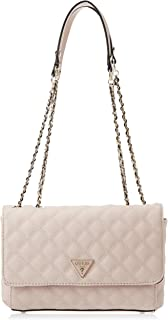 Guess Womens Handbag, Beige - VG767921