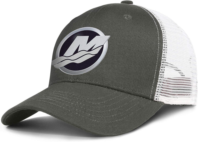 Beautiful Women Young Men Baseball Cap Retro Sparkle Logo-Mercury-Marine- Adjustable Flat Cap Sandwich Brim Hat : Clothing, Shoes & Jewelry