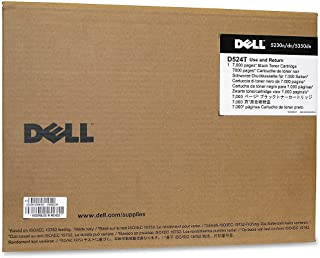 Dell D524T Black Toner Cartridge for 5230, 5350 Laser Pritners
