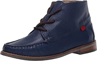 MARC JOSEPH NEW YORK Kids' Leather Made in Brazil Chukka Ankle Boot with Laces