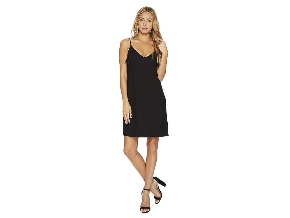 Bishop + Young Ana Lace-Up Dress (Black) Women