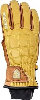 Hestra Ski Gloves: Henrik Pro Model Leather Winter Cold Weather Gloves