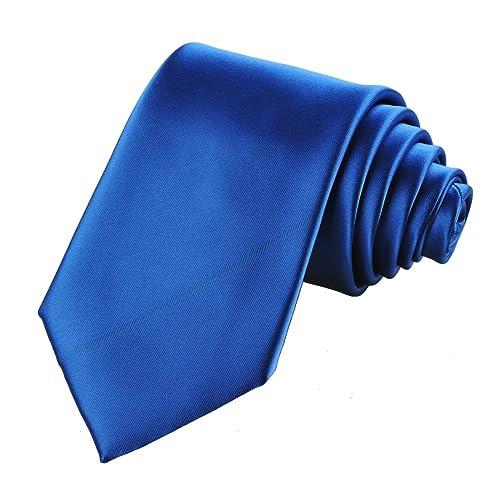 2a3315889f46 KissTies Solid Satin Tie Pure Color Necktie Mens Ties + Gift Box