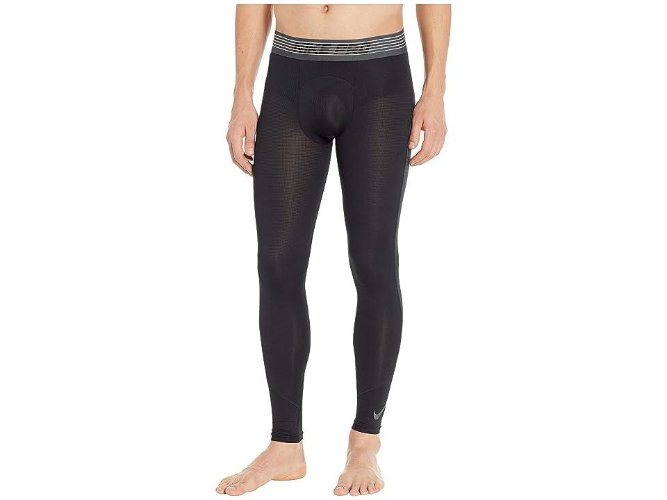 Nike Pro Breath Tights (Black/Black/Dark Grey) Men