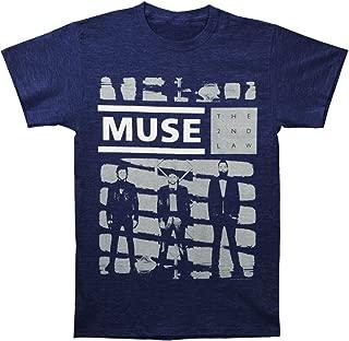 Muse Band Shade of Grey Storm Logo T-Shirt