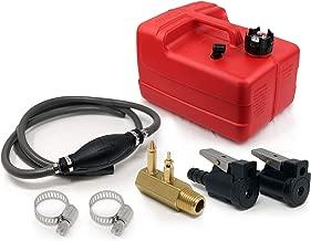 Five Oceans 3 Gallon Marine Fuel Tank Portable Kit (OMC/Evinrude/Johnson) 3/8