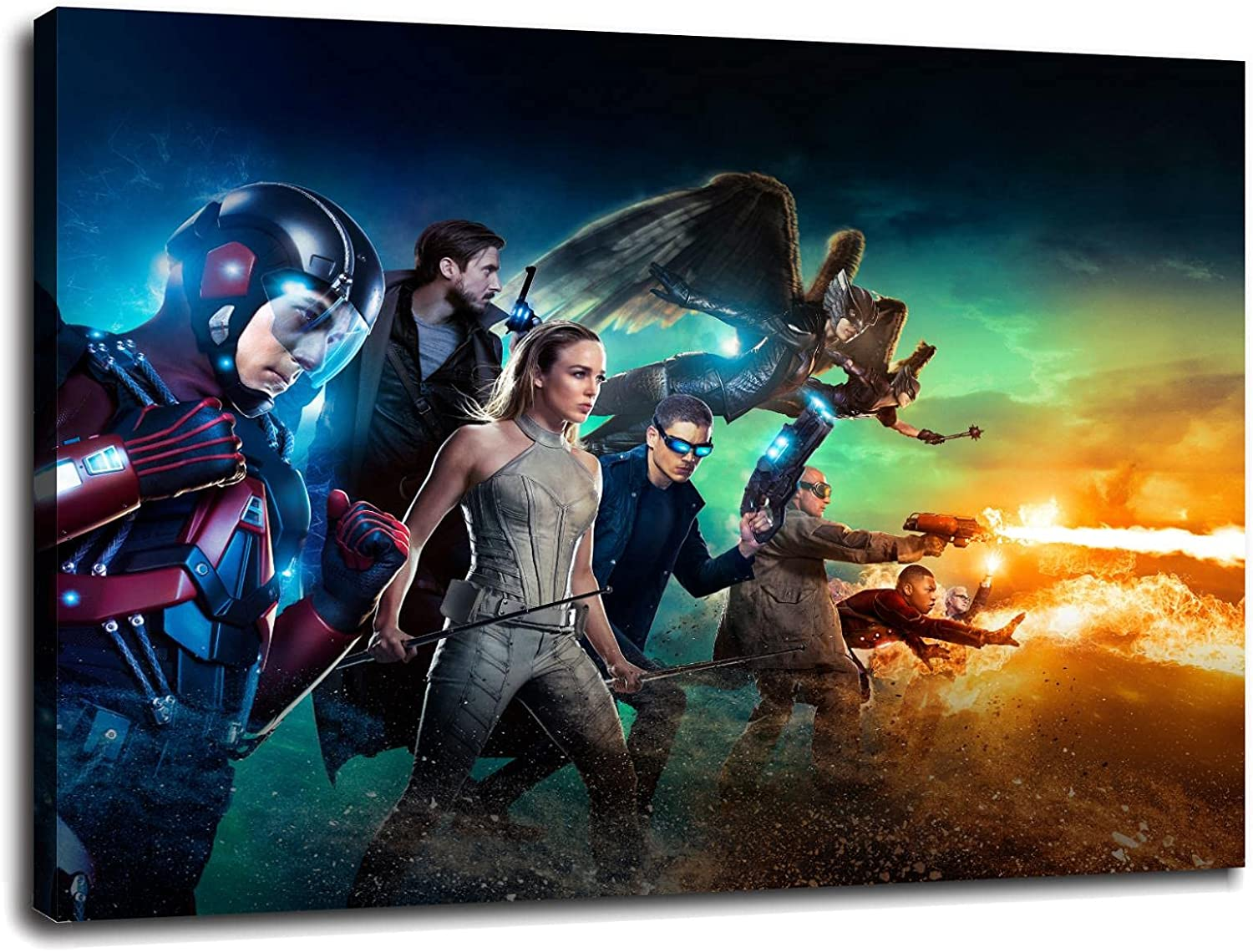 TV Show D Legends Of Tomorrow Pos 人気商品 Silk Inch Canvas Prints 70%OFFアウトレット Poster