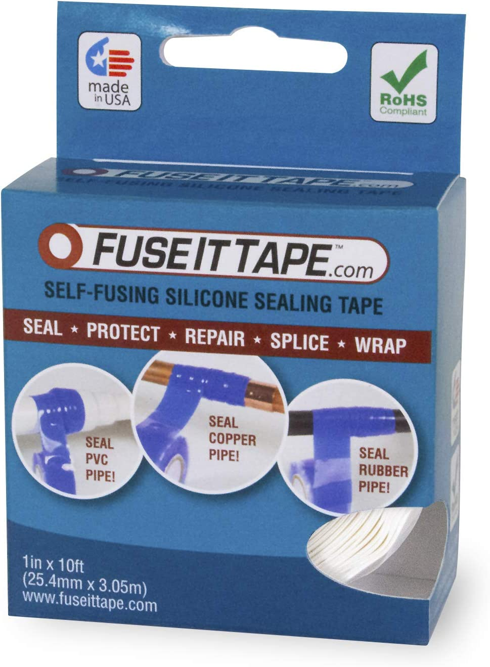 FuseIt Tape High material Self-Fusing Boston Mall Silicone 1