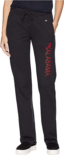 Alabama Crimson Tide University Fleece Open Bottom Pants