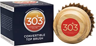 303 Convertible Top Brush - Soft Bristles for Safe But Effective Cleaning - Ergonomic Grip - Break Up Dirt and Debris On C...