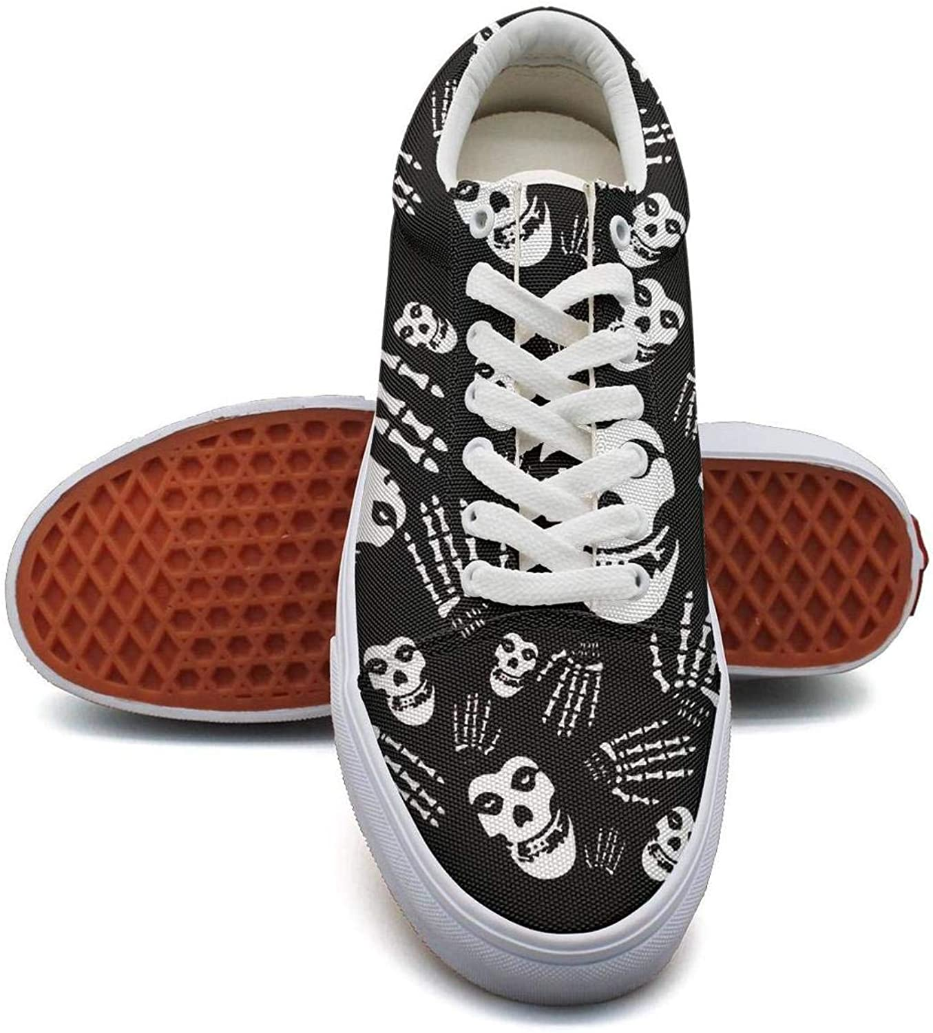 Sneakers for Women The-Misfits-Patches- Wear-Resistant Run shoes