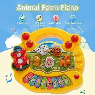 Alisashop Coolplay Baby Kids Toddler Musical Educational Animal Farm Piano Electronic Keyd Music Development Kids Toy