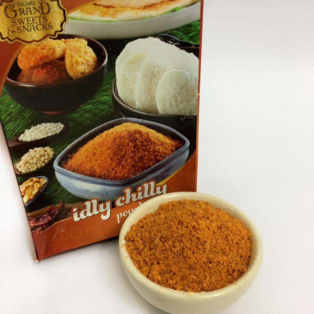 Max 74% OFF The Grand Sweets Chennai Idli Podi South Indian NEW Chilli Chutney