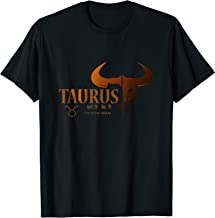 Taurus Tshirt, Bull Design Astrology Birthday Zodiac Sign