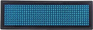 Pyatofyy Affichage numérique LED programmable - Nom de message - Badge d'identification (11 x 44) (bleu)
