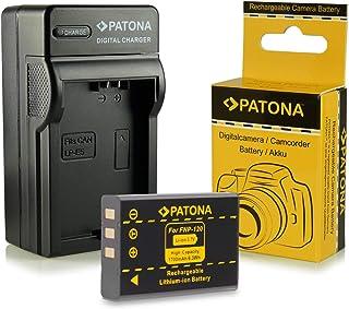 Cargador + Batería NP-120 para Fujifilm FinePix F10 | FinePix F11 | FinePix M603