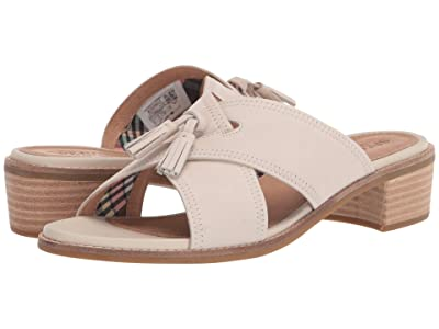 Sperry Seaport City Sandal Tassel Slide Leather (Oatmeal) Women